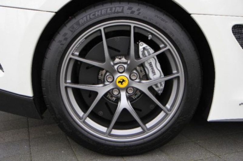 Ferrari 599 GTB GTO Blanc occasion à BEAUPUY - photo n°9