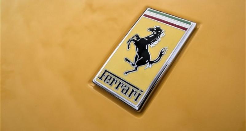Ferrari California 4.3 V8 460ch Jaune occasion à SOUFFELWEYERSHEIM - photo n°4