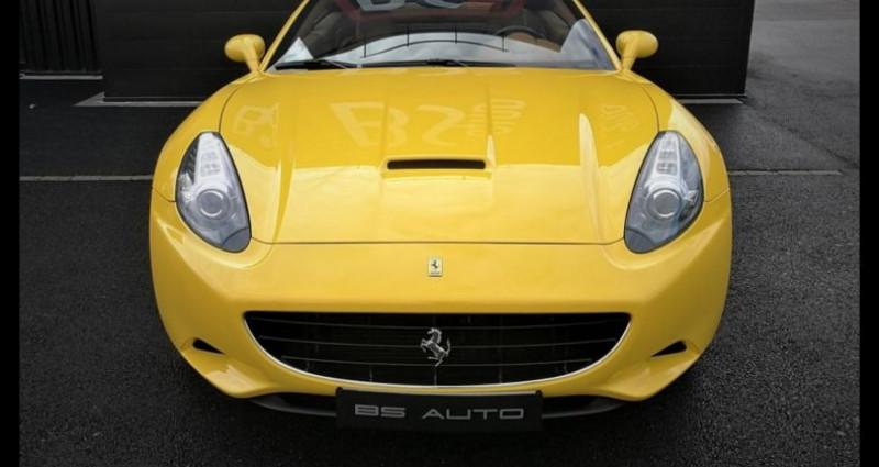 Ferrari California 4.3 V8 460ch Jaune occasion à SOUFFELWEYERSHEIM - photo n°6