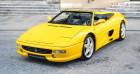 Ferrari F355 Spider *Manual gearbox* Jaune 1995 - annonce de voiture en vente sur Auto Sélection.com