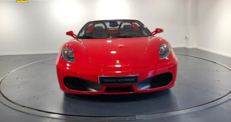 Ferrari F430 Spider V8 4.3 F1 Rouge occasion à La Roche Sur Yon - photo n°2