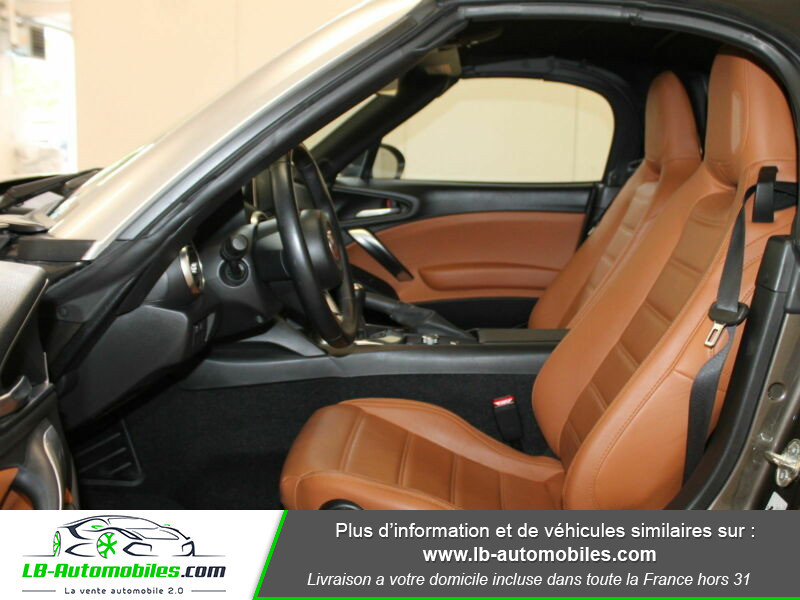 Fiat 124 Spider 1.4 MultiAir 140ch Gris occasion à Beaupuy - photo n°4