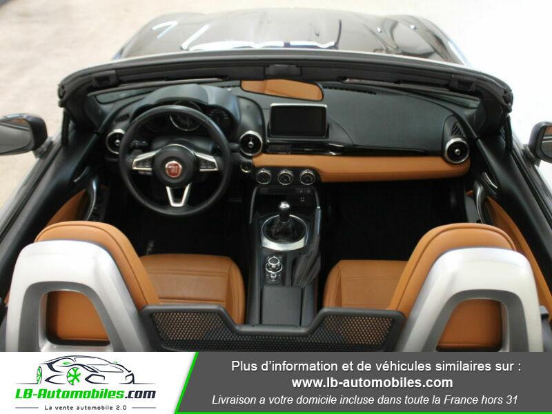 Fiat 124 Spider 1.4 MultiAir 140ch Gris occasion à Beaupuy - photo n°11