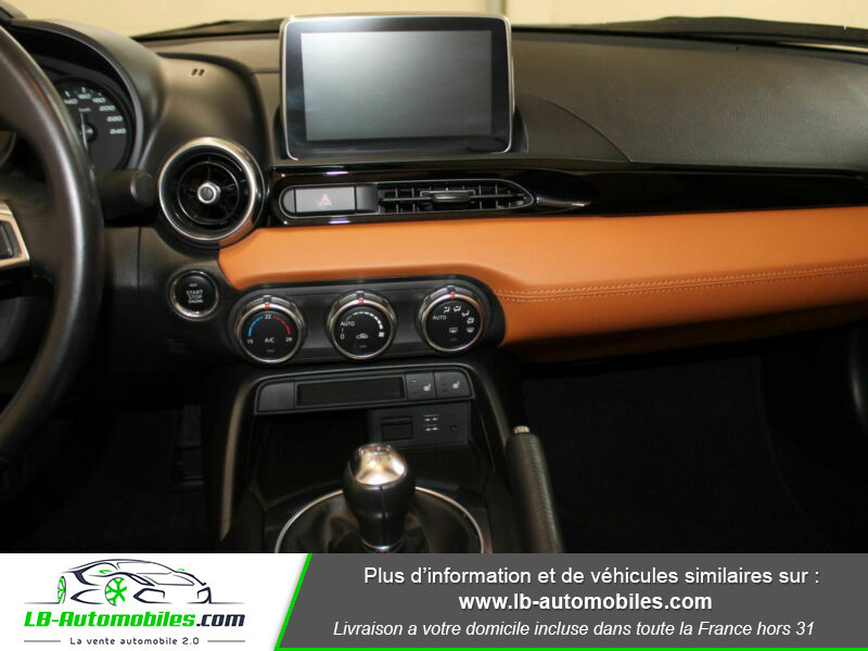 Fiat 124 Spider 1.4 MultiAir 140ch Gris occasion à Beaupuy - photo n°5
