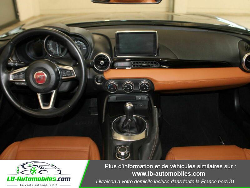 Fiat 124 Spider 1.4 MultiAir 140ch Gris occasion à Beaupuy - photo n°2