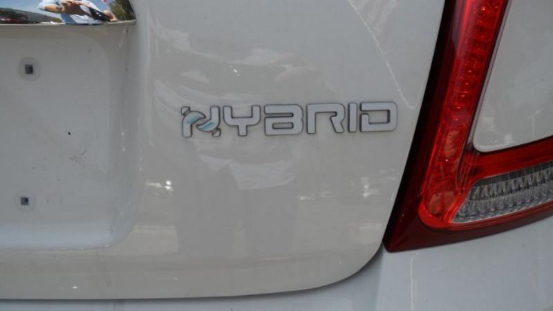 Fiat 500 (SERIE 8) Hybrid 1.0 BSG 70 LOUNGE GPS Toit Pano. Radars Rec Blanc occasion à Toulouse - photo n°5