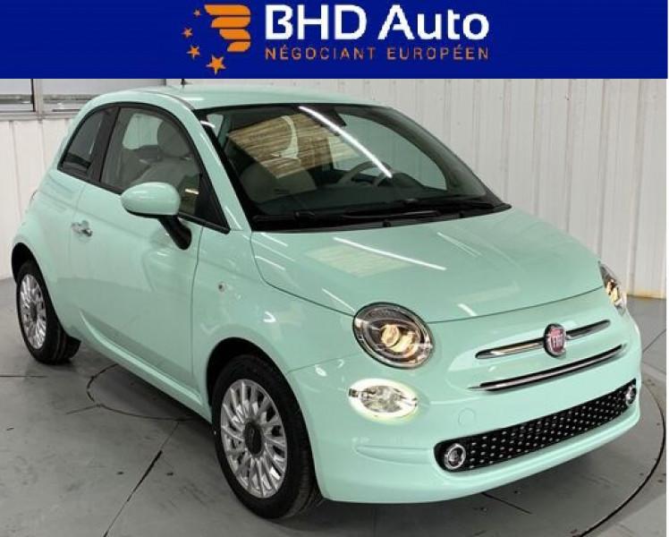 Fiat 500 occasion 2021 mise en vente à Biganos par le garage BHD AUTO - photo n°1