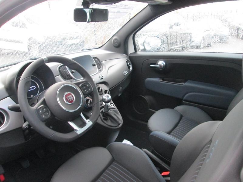Fiat 500 1.0 70CH BSG S&S ROCKSTAR Blanc occasion à Onet-le-Château - photo n°9