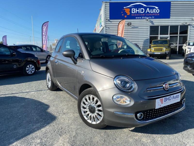 Fiat 500 occasion 2018 mise en vente à Biganos par le garage BHD AUTO - photo n°1