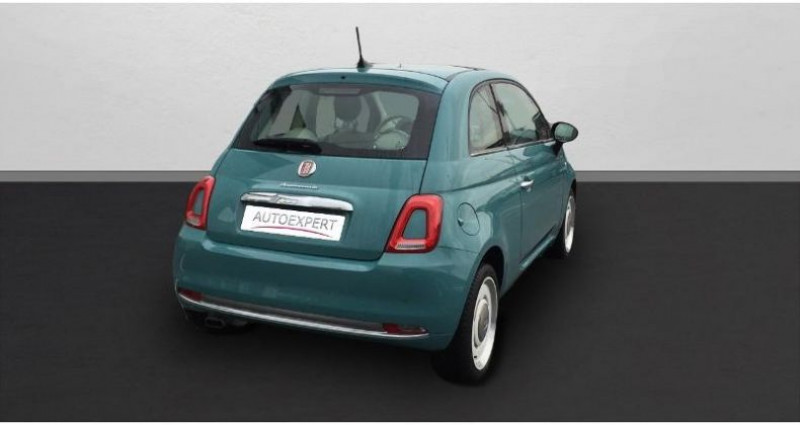 Fiat 500 1.2 8v 69ch Anniversario Vert occasion à SAINT OUEN L'AUMONE - photo n°2