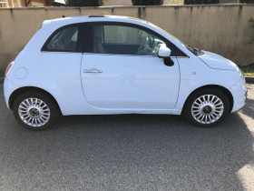 Fiat 500 1.2 8v 69ch Eco Pack Lounge Bleu 2008 - annonce de voiture en vente sur Auto Sélection.com