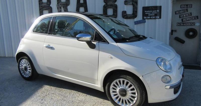 Fiat 500 1.2 8V 69CH LOUNGE Blanc occasion à Le Muy