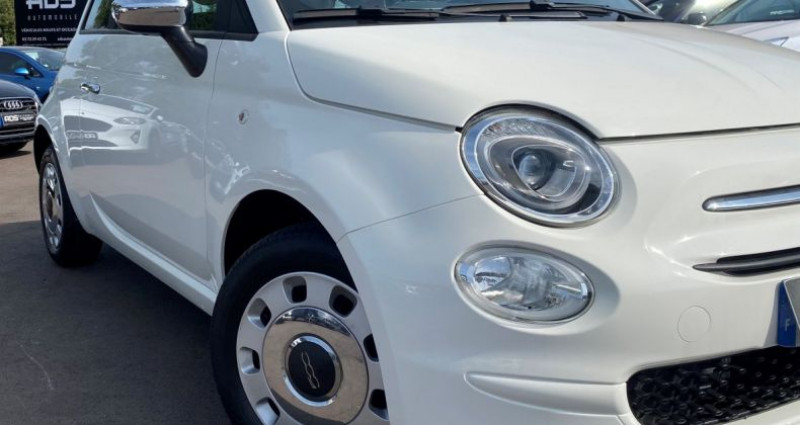 Fiat 500 1.2 8v 69ch Popstar Blanc occasion à Diebling - photo n°4