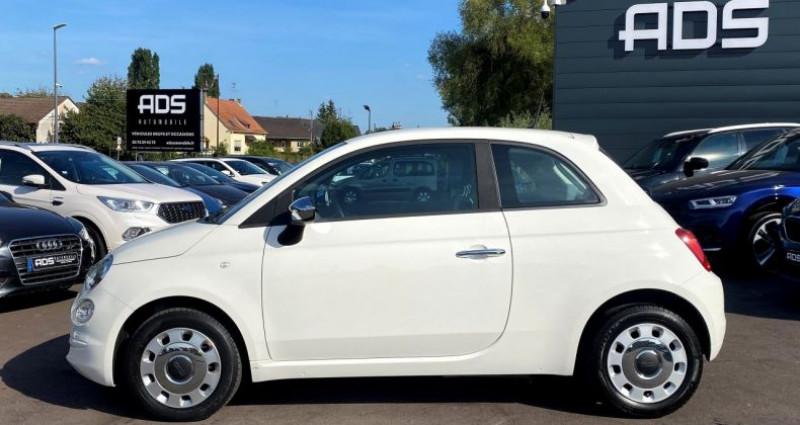 Fiat 500 1.2 8v 69ch Popstar Blanc occasion à Diebling - photo n°7