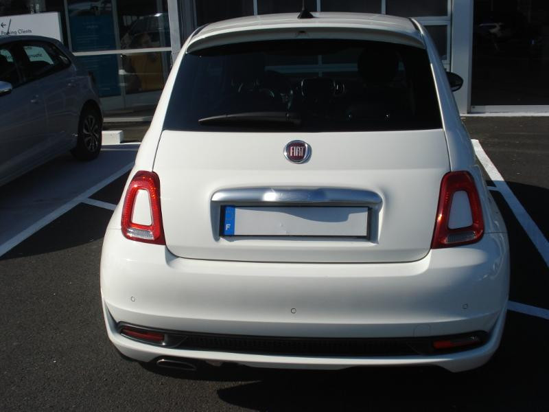 Fiat 500 1.2 8v 69ch S&S Rockstar Blanc occasion à Aurillac - photo n°17