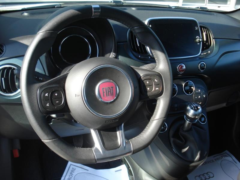 Fiat 500 1.2 8v 69ch S&S Rockstar Blanc occasion à Aurillac - photo n°10