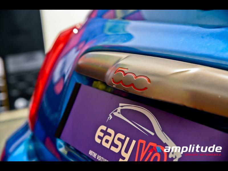 Fiat 500 1.2 8v 69ch S Bleu occasion à Dijon - photo n°12