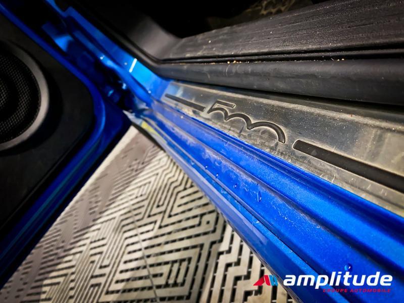 Fiat 500 1.2 8v 69ch S Bleu occasion à Dijon - photo n°18