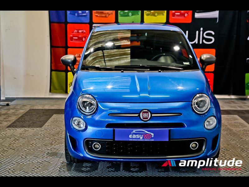 Fiat 500 1.2 8v 69ch S Bleu occasion à Dijon - photo n°2