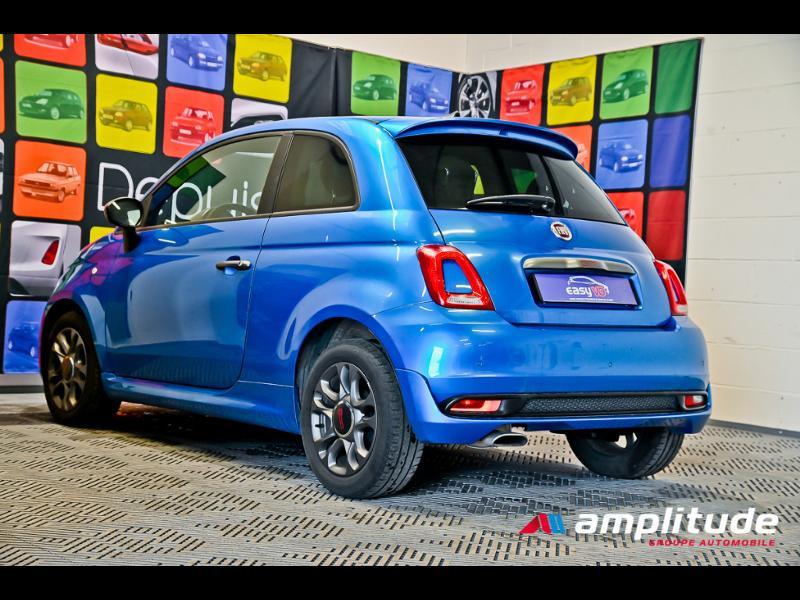 Fiat 500 1.2 8v 69ch S Bleu occasion à Dijon - photo n°6