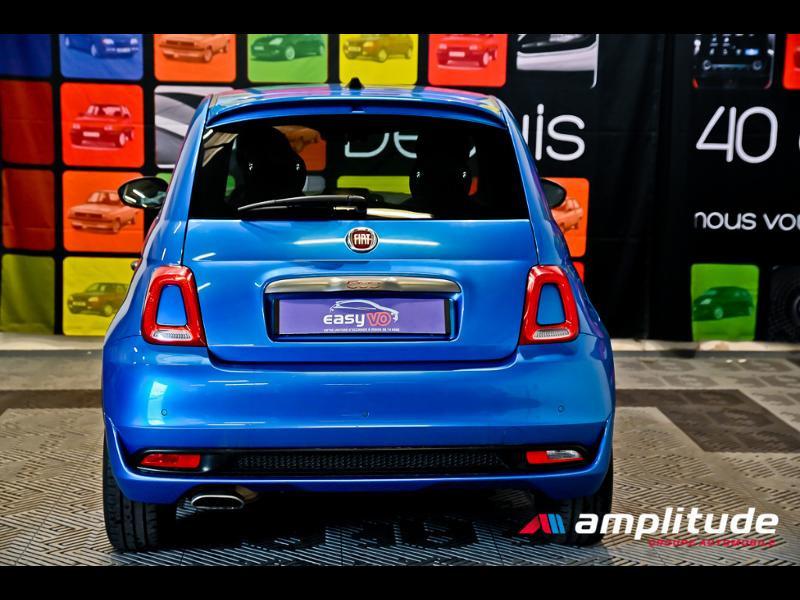 Fiat 500 1.2 8v 69ch S Bleu occasion à Dijon - photo n°5