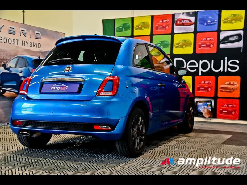 Fiat 500 1.2 8v 69ch S Bleu occasion à Dijon - photo n°4