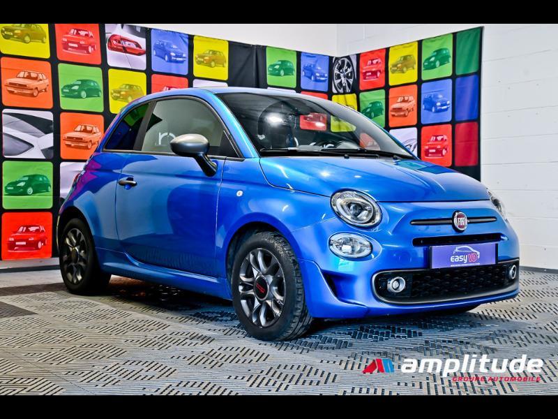 Fiat 500 1.2 8v 69ch S Bleu occasion à Dijon