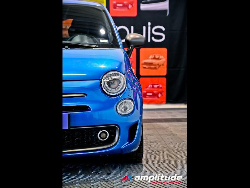 Fiat 500 1.2 8v 69ch S Bleu occasion à Dijon - photo n°14