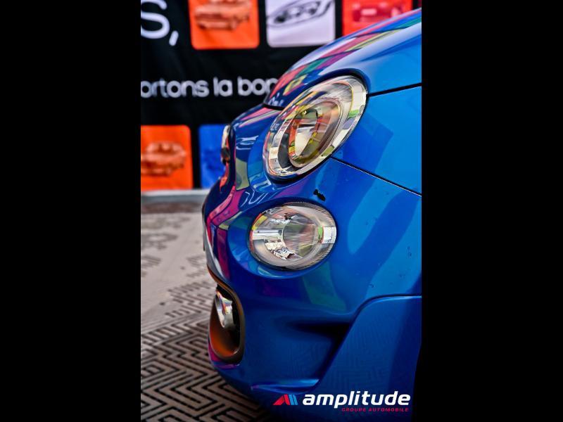 Fiat 500 1.2 8v 69ch S Bleu occasion à Dijon - photo n°10