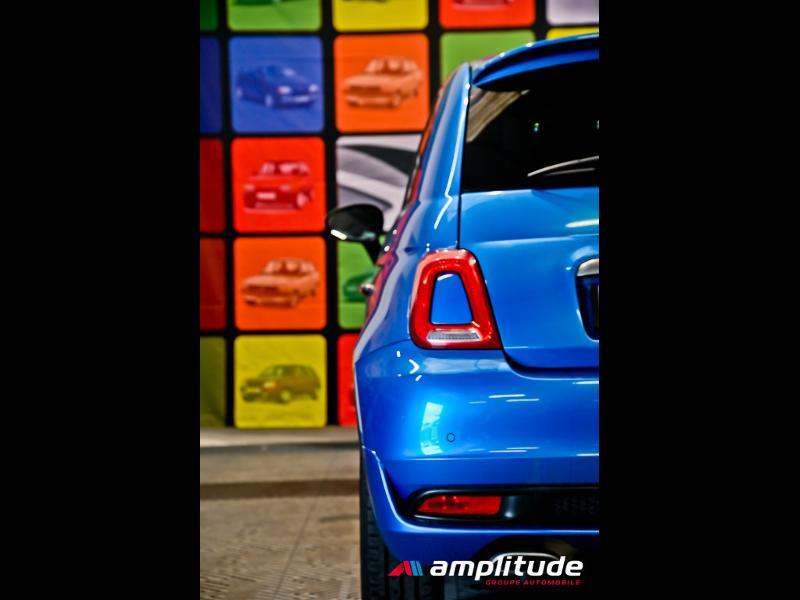 Fiat 500 1.2 8v 69ch S Bleu occasion à Dijon - photo n°7
