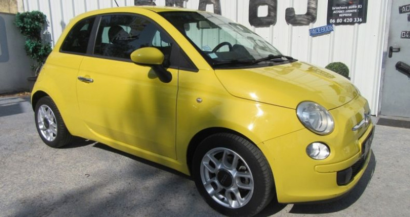 Fiat 500 1.4 16V 100CH SPORT Jaune occasion à Le Muy
