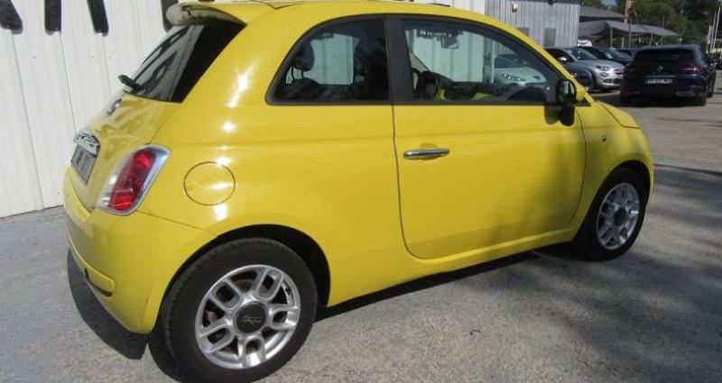 Fiat 500 1.4 16V 100CH SPORT Jaune occasion à Le Muy - photo n°4