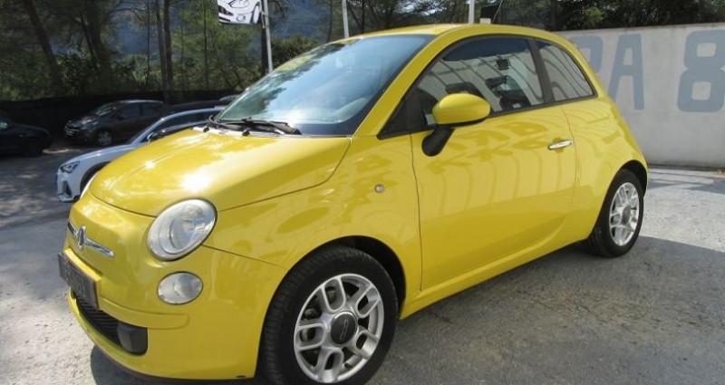 Fiat 500 1.4 16V 100CH SPORT Jaune occasion à Le Muy - photo n°3