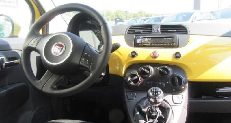 Fiat 500 1.4 16V 100CH SPORT Jaune occasion à Le Muy - photo n°7