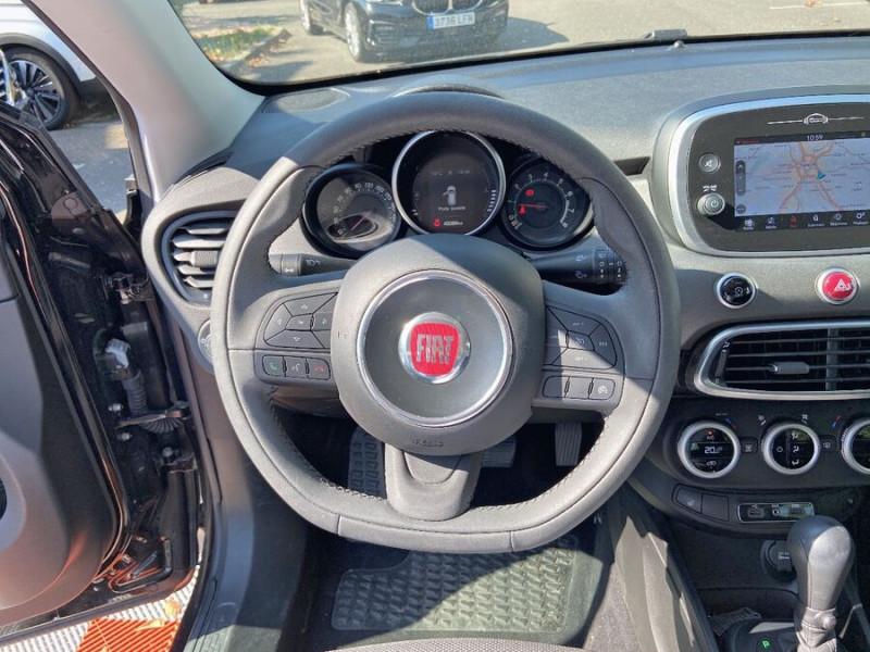 Fiat 500 1,4 MULTIAIR 140 DCT6 CROSS GPS Noir occasion à Toulouse - photo n°13