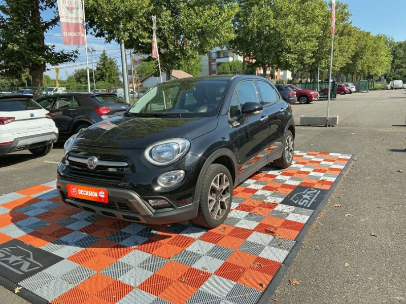 Fiat 500 1,4 MULTIAIR 140 DCT6 CROSS GPS Noir occasion à Toulouse