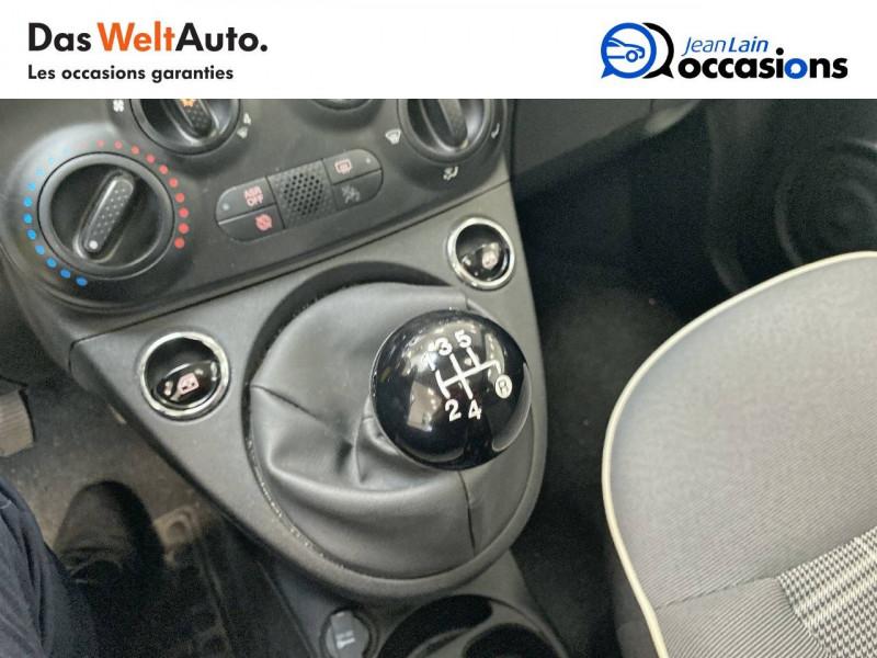 Fiat 500 500 1.2 69 ch Lounge 3p Noir occasion à Albertville - photo n°13