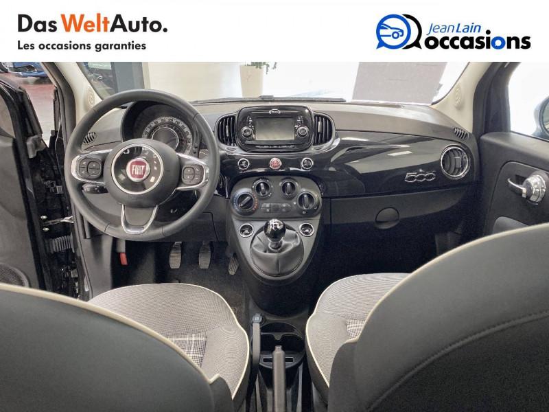Fiat 500 500 1.2 69 ch Lounge 3p Noir occasion à Albertville - photo n°11