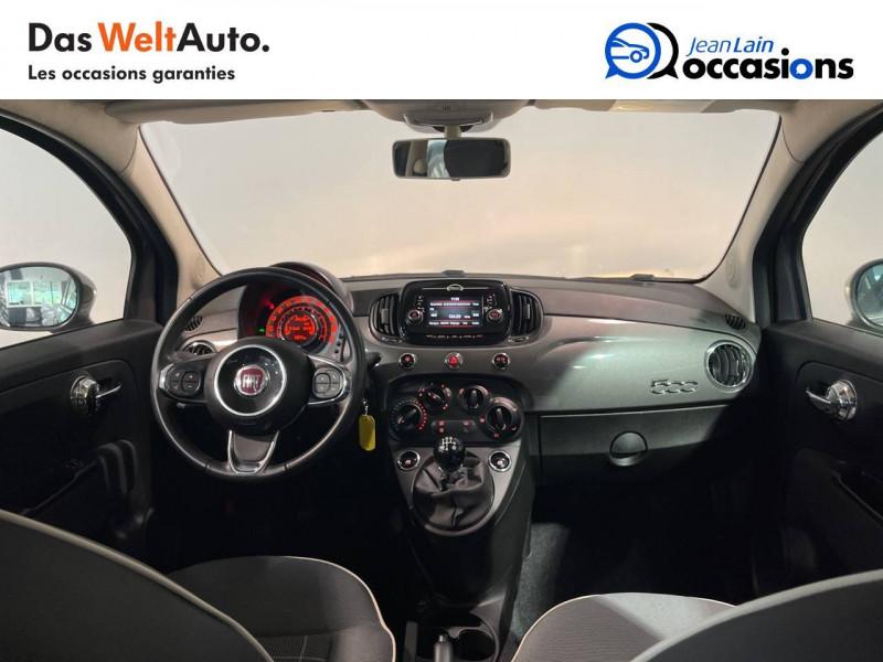 Fiat 500 500 1.2 69 ch Lounge 3p Gris occasion à Seynod - photo n°18