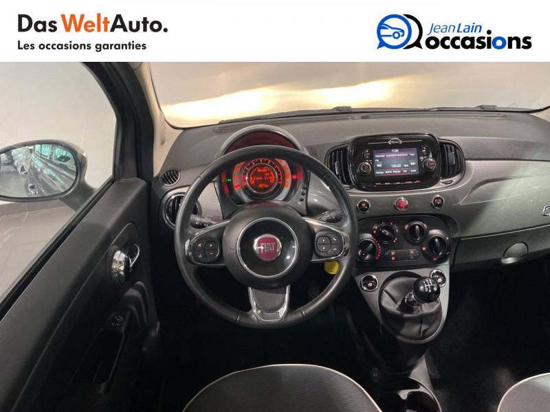 Fiat 500 500 1.2 69 ch Lounge 3p Gris occasion à Seynod - photo n°11