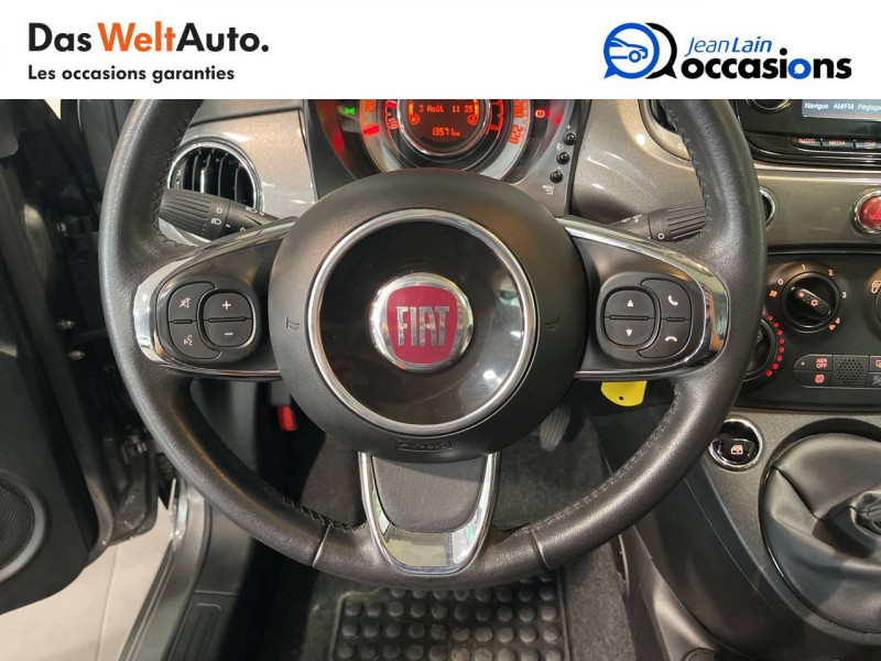 Fiat 500 500 1.2 69 ch Lounge 3p Gris occasion à Seynod - photo n°12