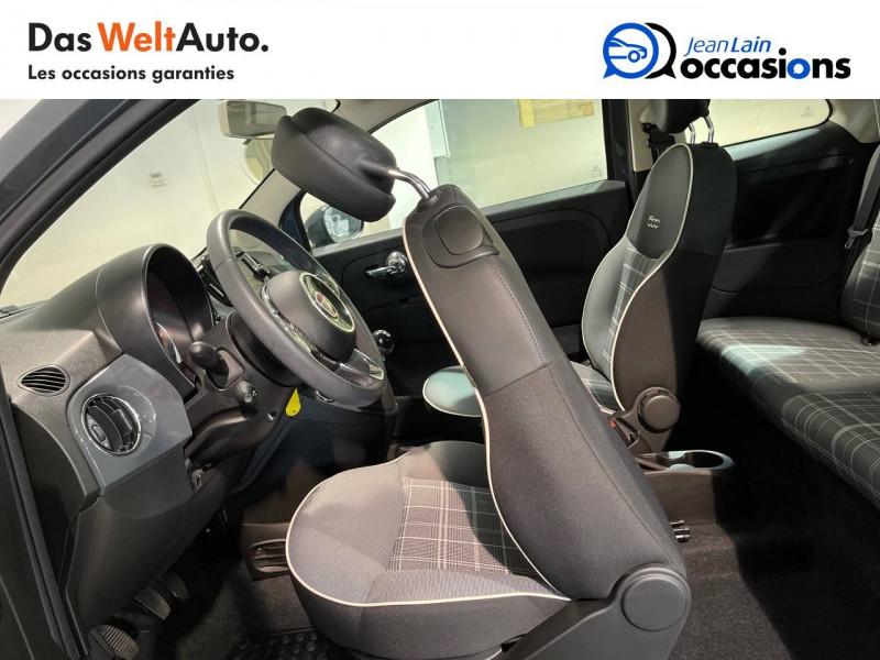 Fiat 500 500 1.2 69 ch Lounge 3p Gris occasion à Seynod - photo n°17