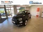 Fiat 500 500 1.2 69 ch Lounge 3p Noir à Voiron 38