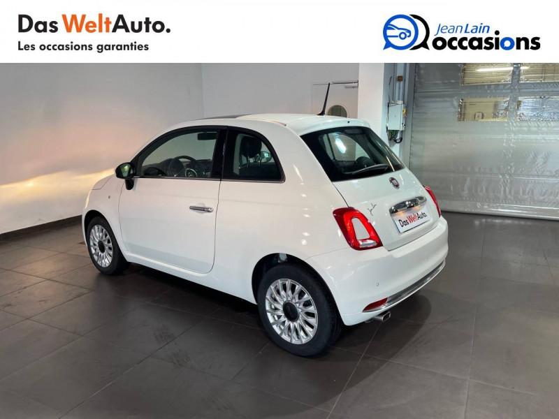 Fiat 500 500 1.2 69 ch Lounge 3p Blanc occasion à Seynod - photo n°7