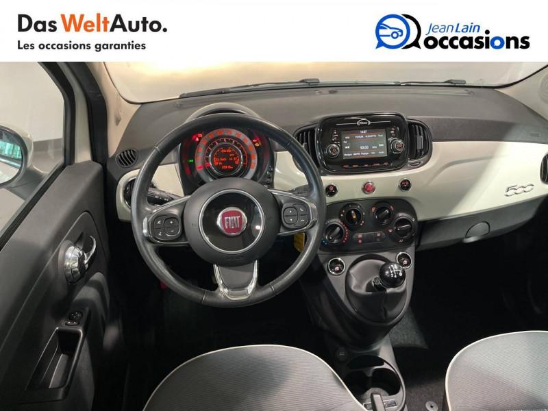 Fiat 500 500 1.2 69 ch Lounge 3p Blanc occasion à Seynod - photo n°11