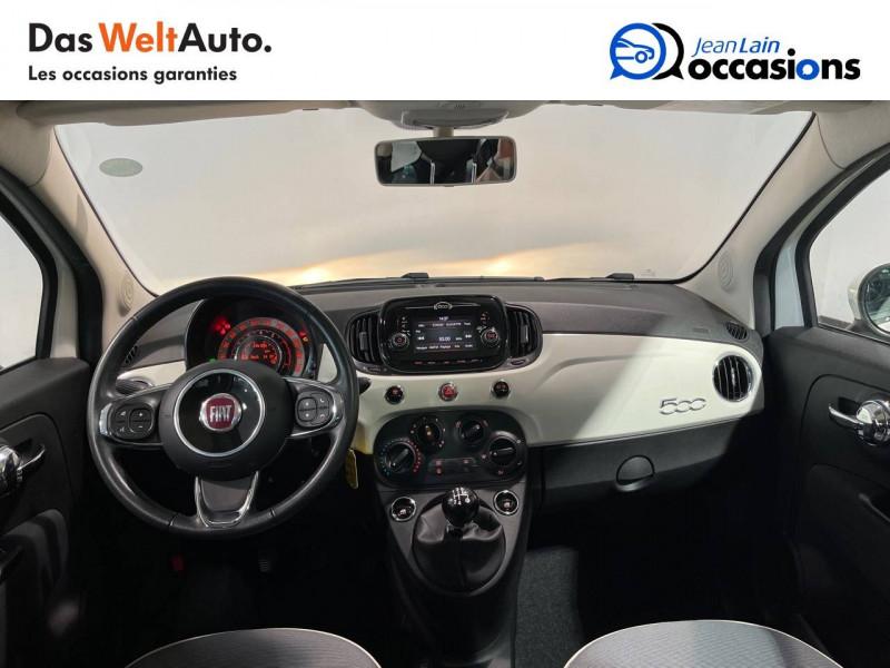 Fiat 500 500 1.2 69 ch Lounge 3p Blanc occasion à Seynod - photo n°18