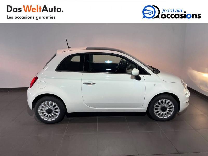 Fiat 500 500 1.2 69 ch Lounge 3p Blanc occasion à Seynod - photo n°4