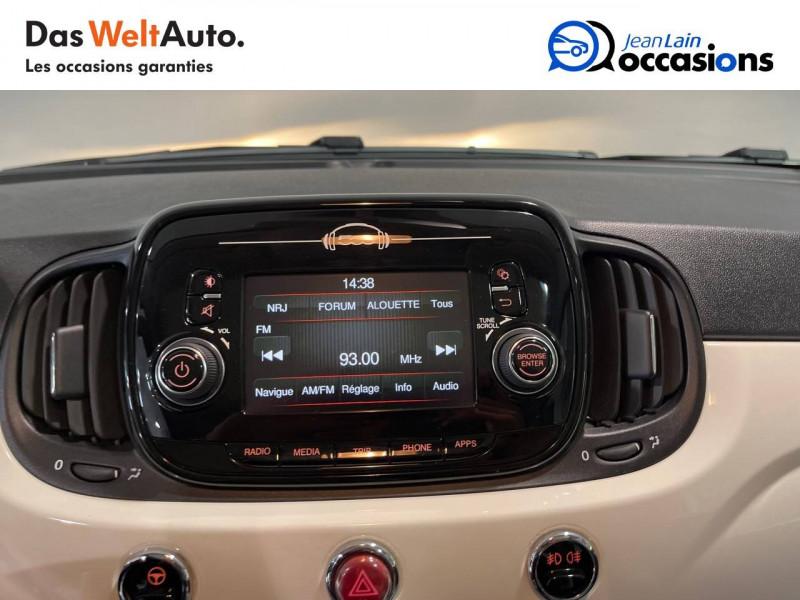 Fiat 500 500 1.2 69 ch Lounge 3p Blanc occasion à Seynod - photo n°16