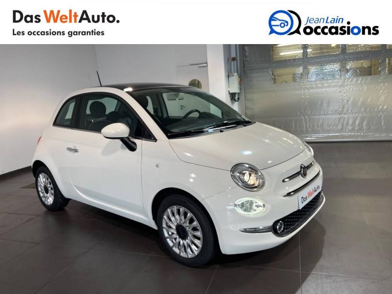Fiat 500 500 1.2 69 ch Lounge 3p Blanc occasion à Seynod - photo n°3