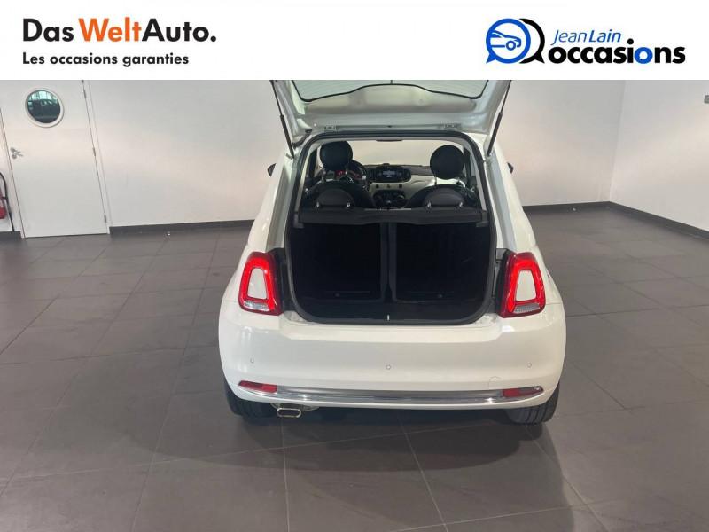 Fiat 500 500 1.2 69 ch Lounge 3p Blanc occasion à Seynod - photo n°10